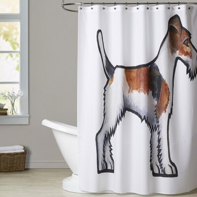 Mains Fox Terrier Shower Curtain