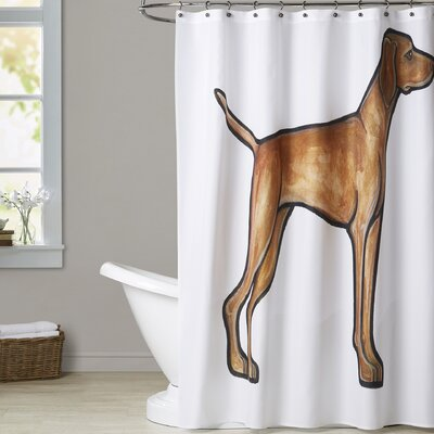 Gebo Vizsla Shower Curtain