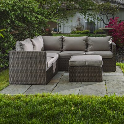 Roslindale 3 Piece Deep Seating Group with Cushion