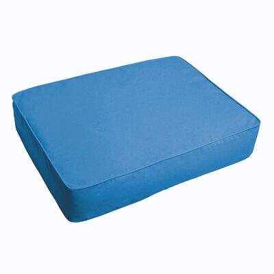 Indoor/Outdoor Floor Pillow Fabric: Light Blue