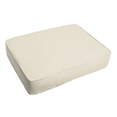 Indoor/Outdoor Floor Pillow Fabric: Ivory