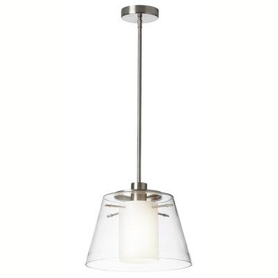Kassandra 1-Light Foyer Pendant Finish: Satin Chrome