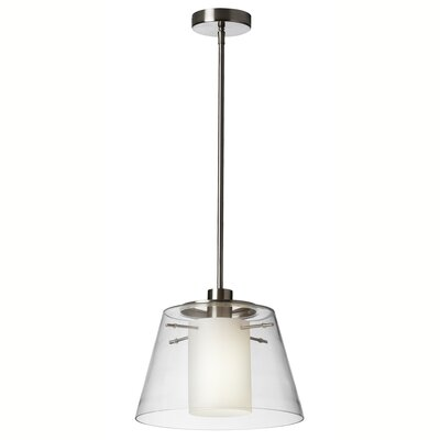 Kassandra 1-Light Foyer Pendant Finish: Polished Chrome