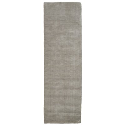 Larissa Light Gray Area Rug Rug Size: Runner 26 x 8