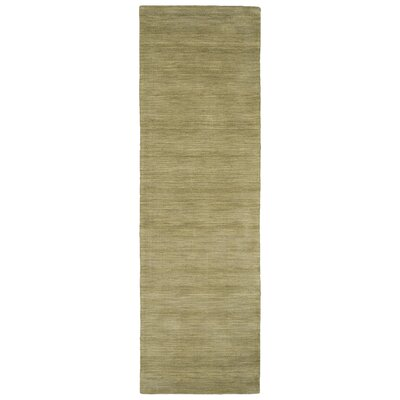 Larissa Light Green Area Rug Rug Size: Runner 26 x 8