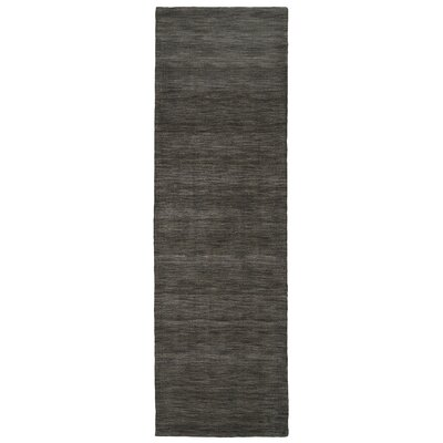 Larissa Charcoal Rug Rug Size: Runner 26 x 8