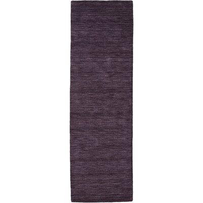 Larissa Purple Rug Rug Size: Runner 26 x 8