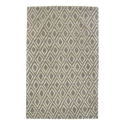 Pressley Light Gray Area Rug Rug Size: Rectangle 96 x 136