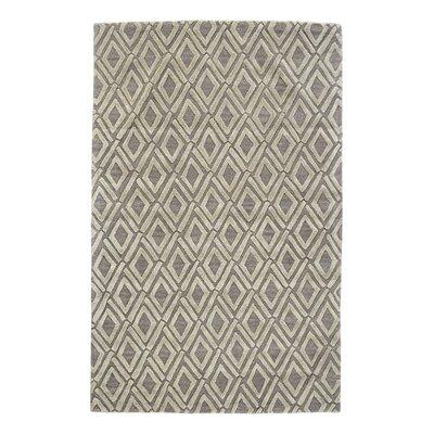 Milano Light Gray Area Rug Rug Size: 96 x 136
