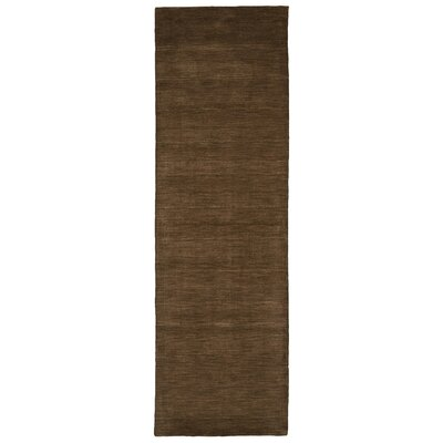 Larissa Brown Rug Rug Size: Runner 26 x 8