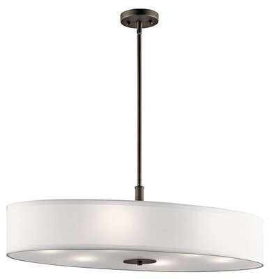 Morton 6-Light Drum Pendant Finish: Olde Bronze