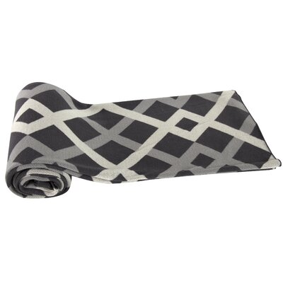 Oden Cashmere Throw Blanket Color: Gray