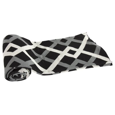 Oden Cashmere Throw Blanket Color: Black