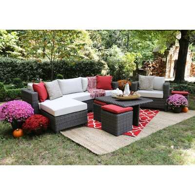Jedicke 9 Piece Seating Group with Cushions