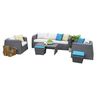 Kitalpha 6 Piece Seating Group with Cushions