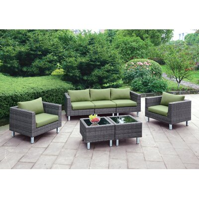 Namaka Outdoor 5 Piece Seating Group