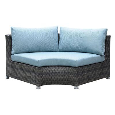 Oden Outdoor Corner Chair with Cushions