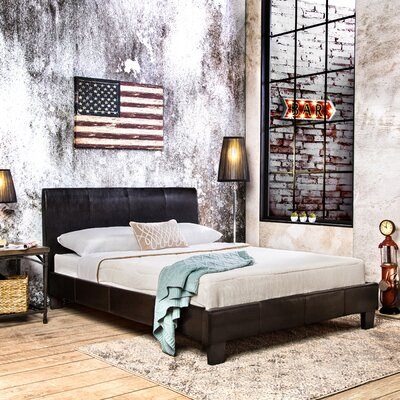 Rita Upholstered Platform Bed Size: California King