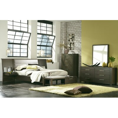 Sirena Platform Customizable Bedroom Set