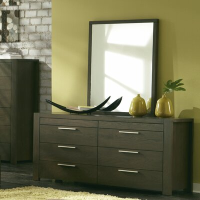 Sirena 8 Drawer Dresser with Mirror
