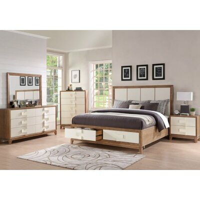 Sirius Platform Customizable Bedroom Set