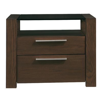 Sirena 2 Drawer Nightstand