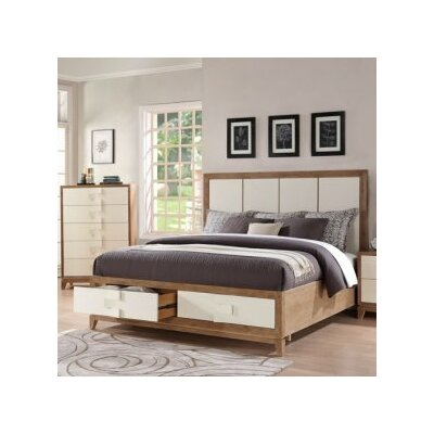 Sirius Storage Platform Bed Size: Queen