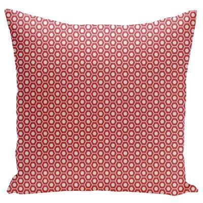 Mercier Euro Pillow Color: Coral