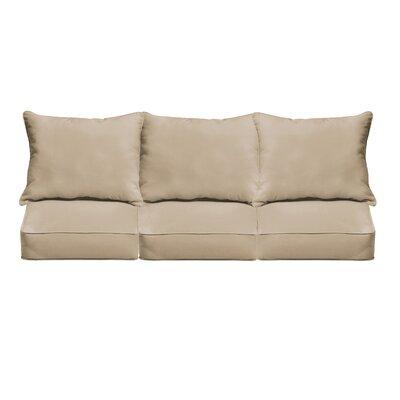 Outdoor Sofa Cushions Fabric: Beige