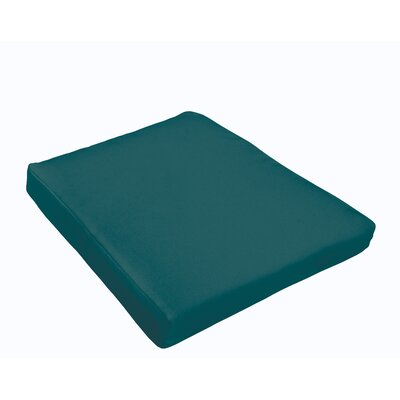Kaplan Outdoor Dining Chair Cushion Color: Teal