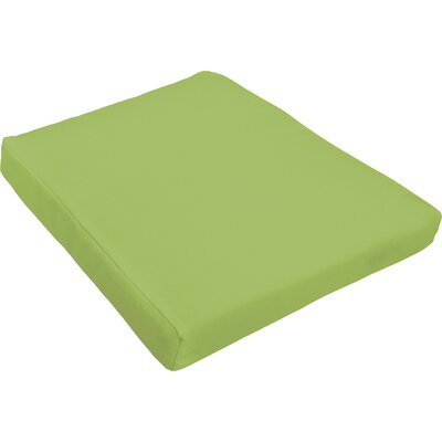 Outdoor Dining Chair Cushion Fabric : Apple Green