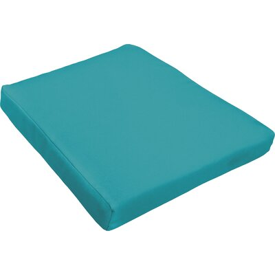 Outdoor Dining Chair Cushion Fabric : Aqua Blue