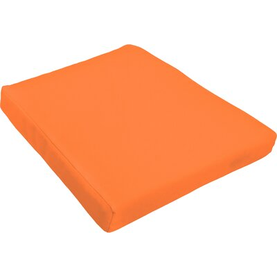 Outdoor Dining Chair Cushion Fabric : Bright Orange