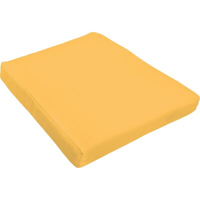 Outdoor Dining Chair Cushion Fabric : Butter Yellow
