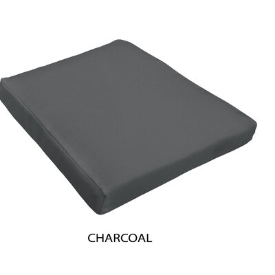 Outdoor Dining Chair Cushion Fabric : Charcoal
