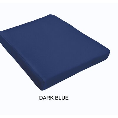 Outdoor Dining Chair Cushion Fabric : Dark Blue