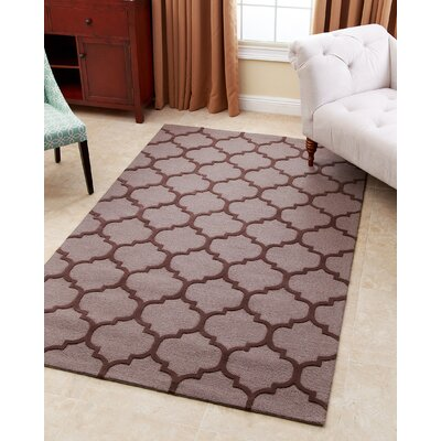 Karas Hand-Tufted Grey Area Rug Rug Size: 3 x 5