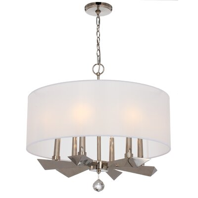 Campa 6-Light Drum Chandelier