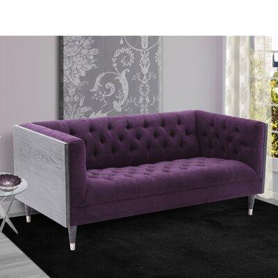 Kaneshiro Sofa Upholstery: Purple