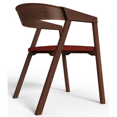 Kleopatra Arm Chair Finish: Walnut