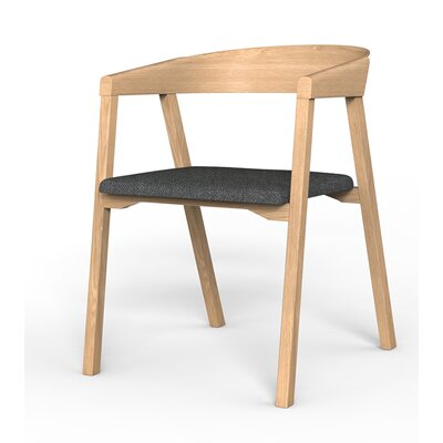 Kleopatra Arm Chair Finish: Oak