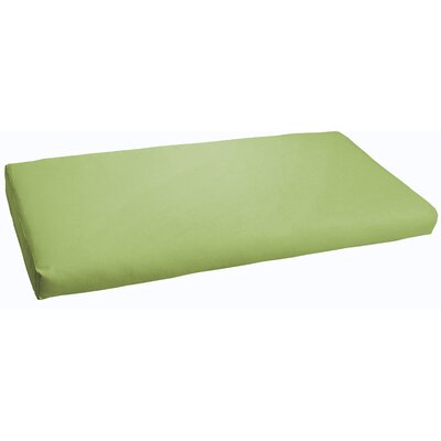 Indoor/ Outdoor Bench Cushion Color: Apple Green