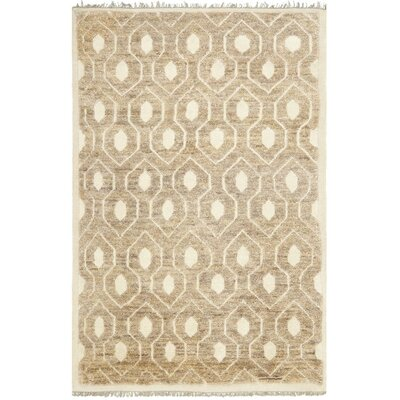 Cosper Ivory Tribal Rug Rug Size: Rectangle 4 x 6