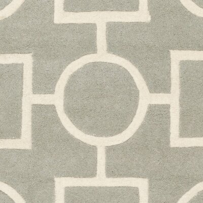 Averett Gray Rug Rug Size: Square 7