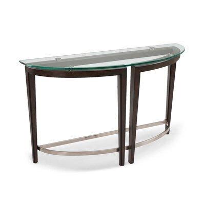 Heslin Demilune Console Table