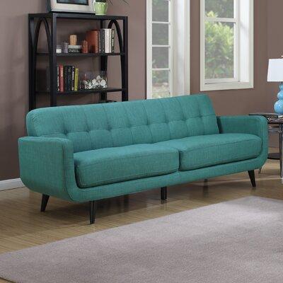 Higbee Modular Sofa Upholstery: Teal