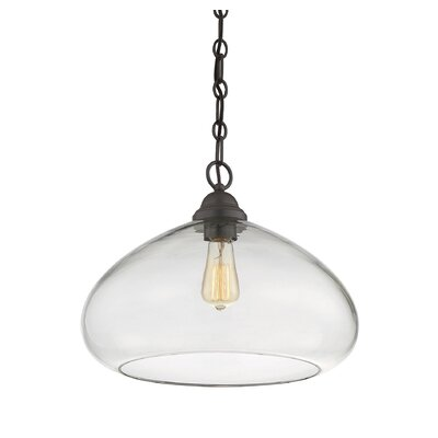 Dorston Pendant Finish: English Bronze
