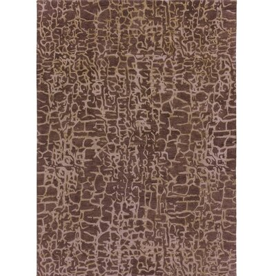 Kymani Hand-Tufted Brown Area Rug Rug Size: 8 x 11