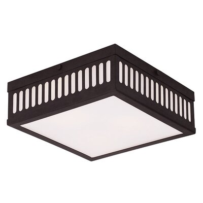 Kursk 3-Light Flush Mount Finish: Bronze