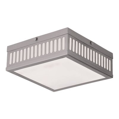 Kursk 3-Light Flush Mount Finish: Brushed Nickel